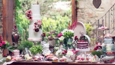Cómo decorar una mesa de dulces