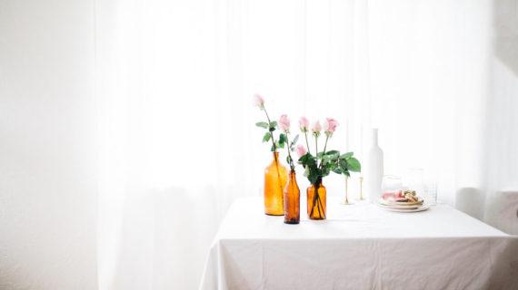 5 ideas para decorar con jarrones
