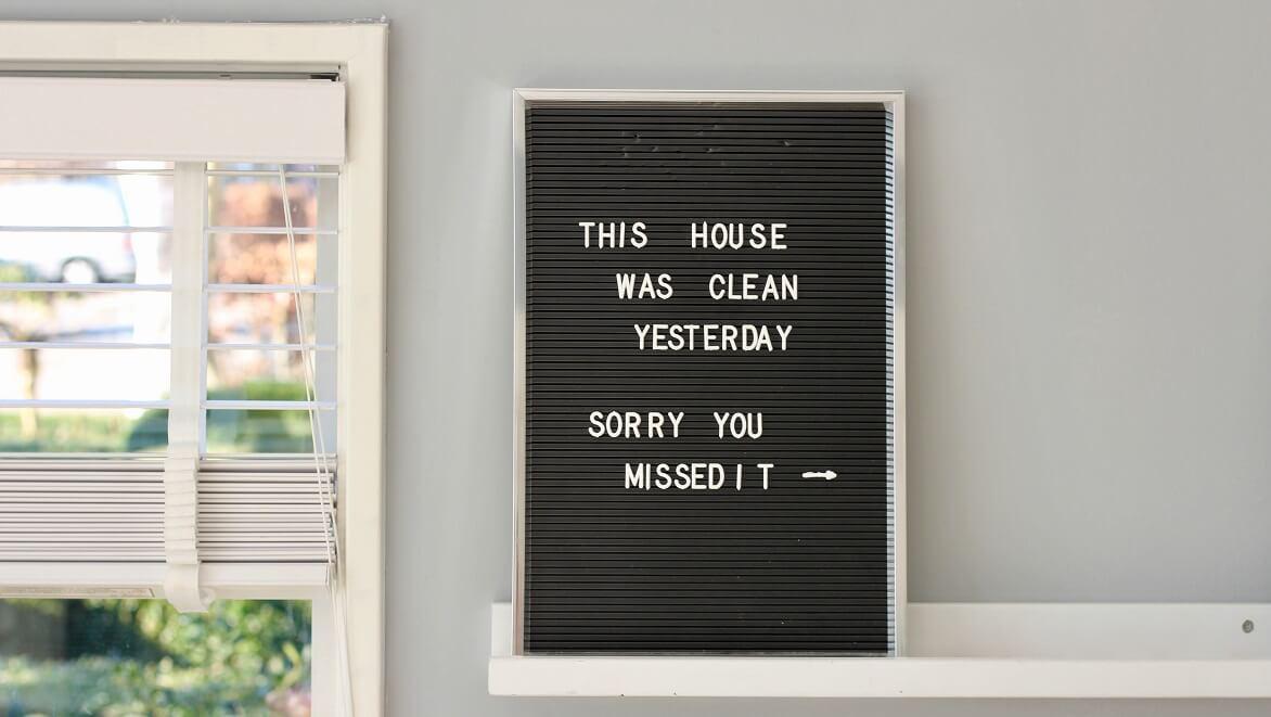 Cinco consejos para mantener tu casa siempre en orden