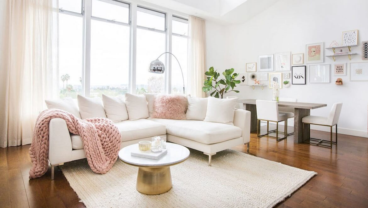 <em>La vie en rose</em>: claves para decorar con color rosa