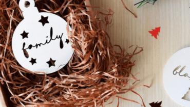 Adornos de Navidad personalizados: ¡haz tu árbol todavía más especial!