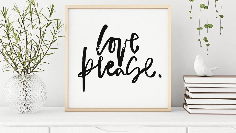 Ideas para decorar con mensajes bonitos