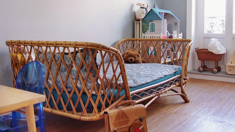 Ideas para un dormitorio infantil de estilo natural