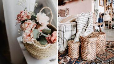 Cinco ideas para sacar partido a una cesta