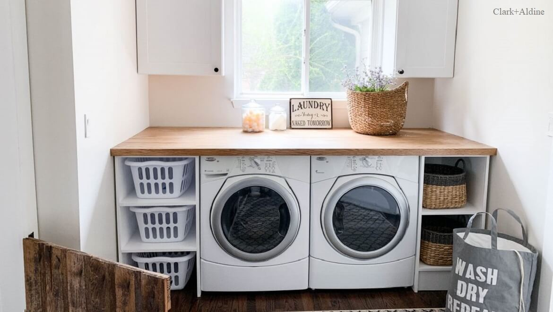 """Cómo organizar una """"Laundry room"""""""
