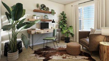 Ideas para decorar las esquinas de las paredes
